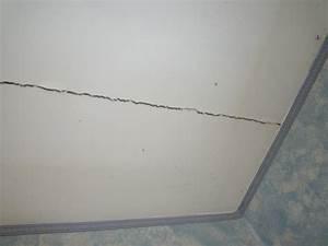 fissure plafond grave With peinture pour plafond fissure