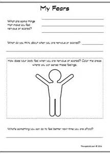 Anxiety Worksheets for Children