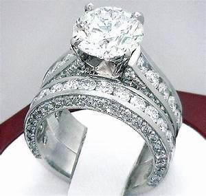 32 carat diamond engagement ring mount wedding band With wedding rings 3 carats