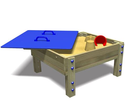 how to sand a table covered sand table with lid pentagon play