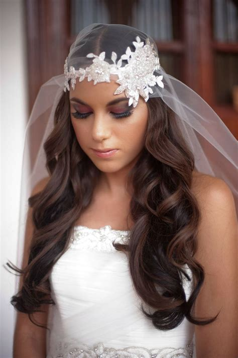 Juliet Cap Veil Hairstyles Weddingbee