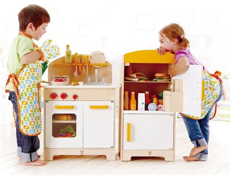 hape white gourmet chef kitchen with accessories hape playfully delicious gourmet kitchen 9231