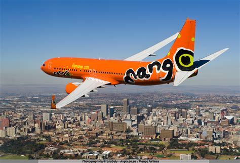 Mango Flights To Johannesburg