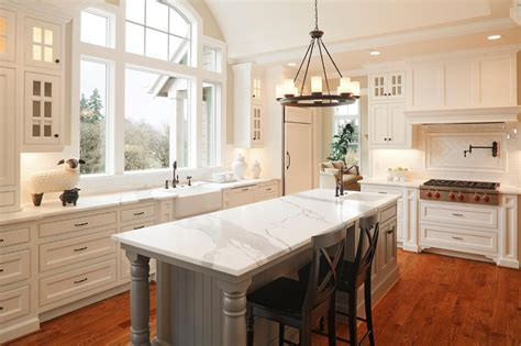 kitchen island with marble top 41 luxury u shaped kitchen designs layouts photos