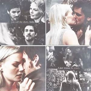 Emma and Hook ~ Once Upon a Time | Once Upon a Time ...