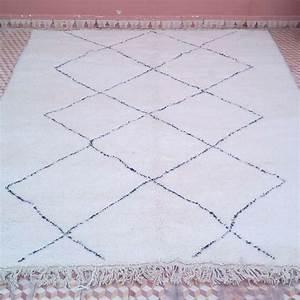 Grand Tapis Berbere : tapis berb re beni ouarain de 220 x 300 cm en laine ~ Teatrodelosmanantiales.com Idées de Décoration
