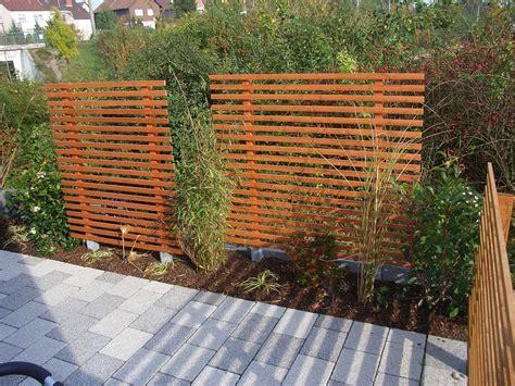Sichtschutz Im Garten Ideen by Sichtschutz Garten Holz Modern Sichtschutz Im Garten