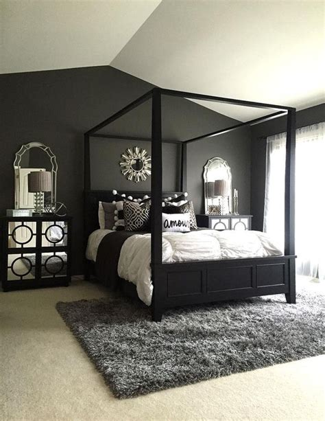 Decorating Ideas For Black Bedroom by 25 Black Bedroom Decorating Ideas Living Home