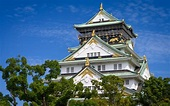 Download wallpapers Osaka Castle, Japanese castle ...