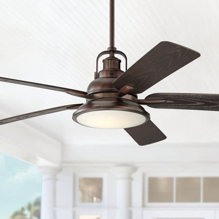 Ceiling Fan With Dimmable Light by 60 Quot Casa Vieja Industrial Outdoor Ceiling Fan With Light