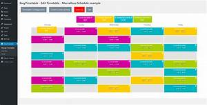 Easytimetable  U2013 Responsive Schedule Management System