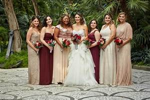 22 Romantic Burgundy and Rose Gold Fall Wedding Ideas - Page 2