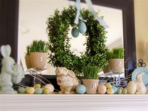 easter mantel decor decorate your mantel year round interior design styles and color schemes for home decorating