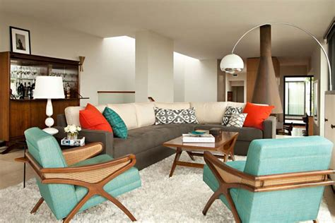 the best color palettes for your mid century modern home