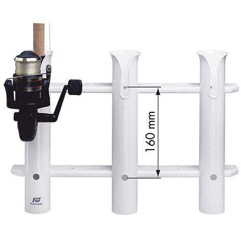 Fishing Rod Holders For Your Boat by Pvc Fishing Rod Holder Rack For 3 Rods For Your Boat Ebay