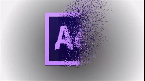 Wave Logo Particles Animation Effect Tutorial