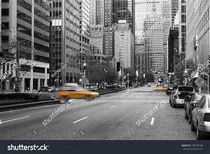 Manhattan, New York City In Early Morning With Almost No ...