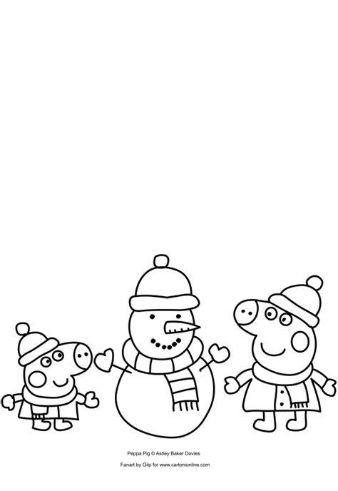 disegni da colorare e stare peppa pig peppa pig da colorare e stare peppa pig da stare e