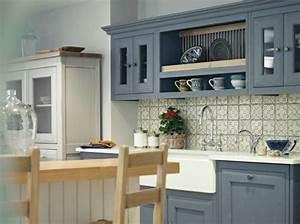 Carreaux De Ciment Credence : la cuisine esprit campagne nous charme elle d coration ~ Dailycaller-alerts.com Idées de Décoration