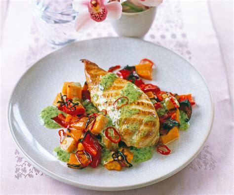 3 fr recettes de cuisine blanc de poulet grillé aux patates douces recette gourmand
