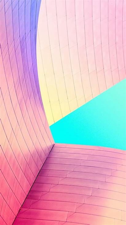 Modern Iphone Colorful Plus Building Walls Wallpapers