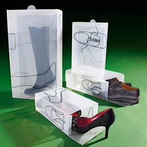 Boite à Chaussures Transparentes : bo tes chaussures garantie produit de 3 ans ~ Dailycaller-alerts.com Idées de Décoration