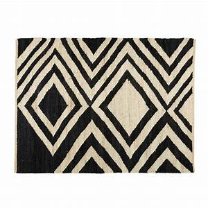 Tapis Scandinave Maison Du Monde : blosia tapis contemporain maisons du monde decofinder ~ Nature-et-papiers.com Idées de Décoration