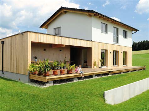 Langlebige Und Schöne Holzfassaden Aus Lärche Oder