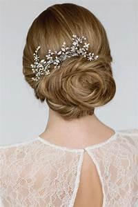 Wedding Hair Accessories Bridal Hairpiece Crystal Pearl