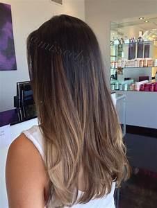 Ombré Hair Marron Caramel : balayage braun glatt hair ideas in 2019 hair ~ Farleysfitness.com Idées de Décoration