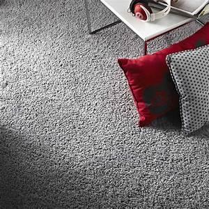Moquette Exterieur Grise : moquette velours moonshadow grise 4 m leroy merlin ~ Edinachiropracticcenter.com Idées de Décoration