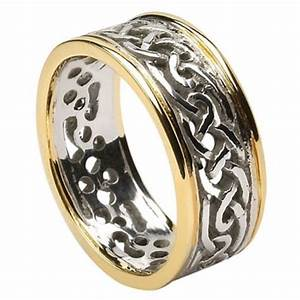 filagree celtic wedding ring with trim celtic wedding With wedding rings ireland