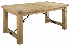 Autumn Solid Wood Extension Table - Rustic - Dining Tables