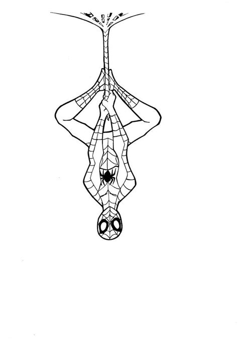 simple spiderman art | Spiderman: line art by Justicity-Comics | Spiderman tattoo, Spiderman art