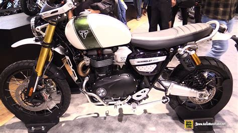 2019 triumph scrambler 1200 xe walkaround debut at