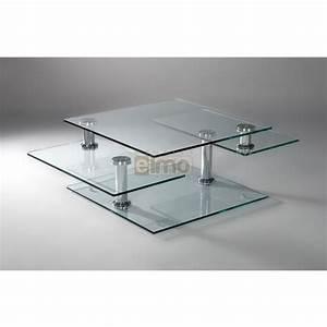 Table Basse Moderne : table basse en verre monsieur meuble ~ Preciouscoupons.com Idées de Décoration