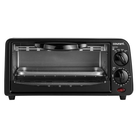 Compact Toaster Oven Reviews - courant 2 slice compact toaster oven with bake tray and