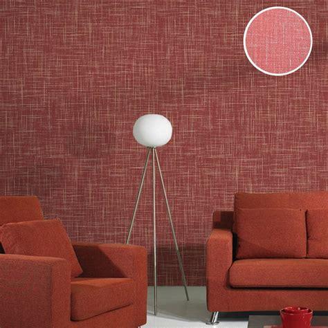 modern solid color vinyl linen textured wallpaper plain
