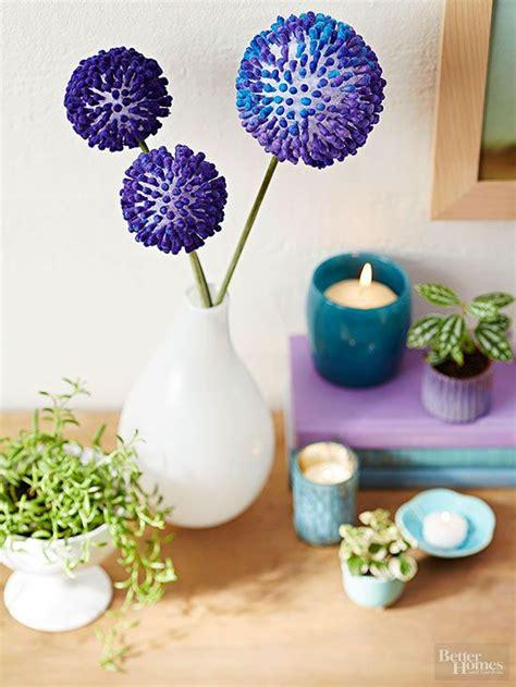 making  rounds flower crafts diy flowers styrofoam