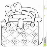 Coloring Bag Purse Handbag Pages Ladies Template Useful Illustration 1269 33kb 1300px sketch template