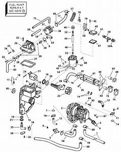 Johnson Fuel Bracket And Components Parts For 2000 115hp