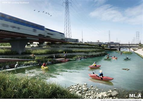 Arch Garden Centre Edmonton by New L A River Restoration Renderings Revealed For Several