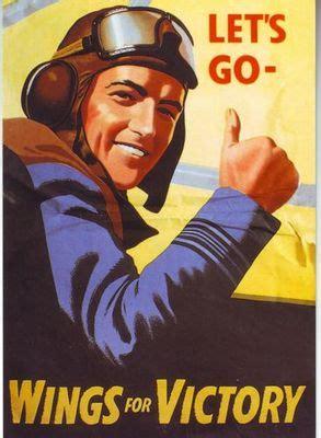 world war  wings  victory raf poster   print