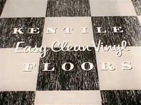 vintage   easy clean kentile vinyl asbestos floor