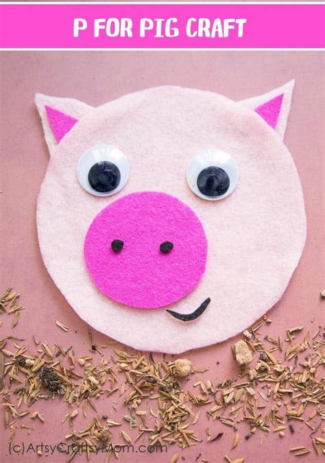 pig crafts  chinese  year diy thought