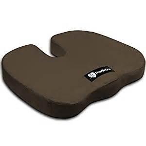 amazon com pharmedoc 174 coccyx seat cushion brown