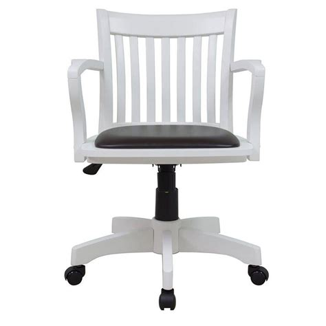 white office chair with arms home decorators collection oxford white office chair