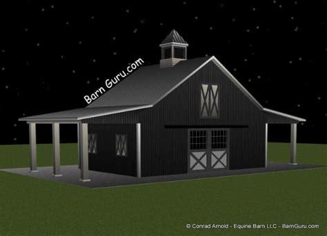 Barn Plans Cost Estimate