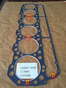 China Caterpillar Engine Parts Head Gasket Of 3406  6i3066
