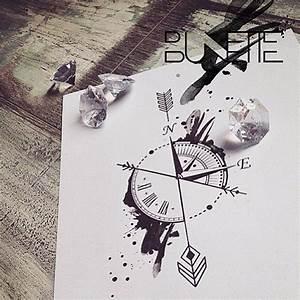 Attrape Reve Maison Du Monde : croquis id e tatouage horloge et boussole tatouage pinterest tatouages horloge id e ~ Teatrodelosmanantiales.com Idées de Décoration